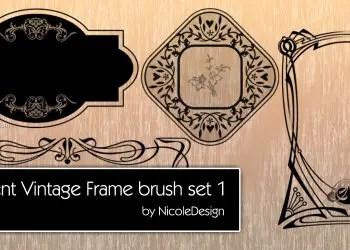 Ornament Vintage Frames