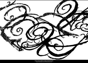 Gothic Grungy Swirls