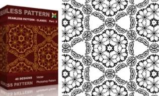 Seamless Pattern Classic Set.2