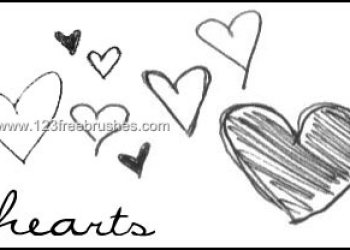 Love Doodle Hearts