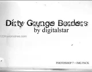 Dirty Grunge Borders
