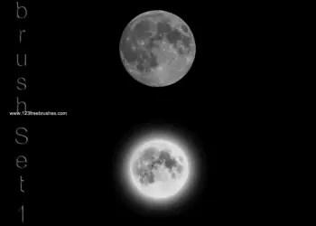Moon Set 1