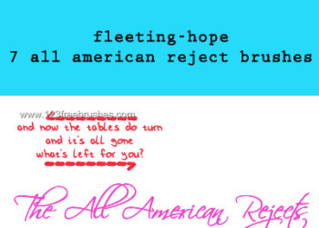 All American Reject Lyrics