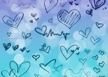 Scribble Heart Designs