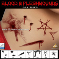 Blood and Flesh Wounds
