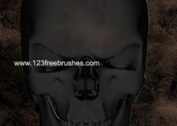Human Scary Skull