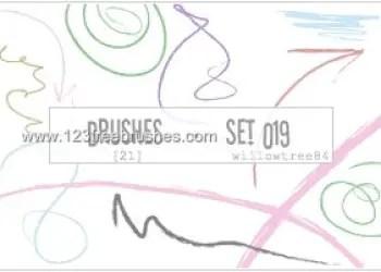 Scribbles Lines 5