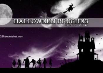 Free Halloween Photoshop Cs3 Brushes Free