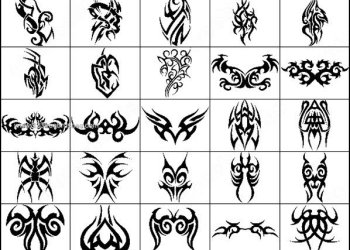 Tribal Tattoo designs Brushes Photoshop