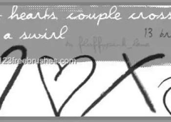 Hearts – Crosses – Swirl