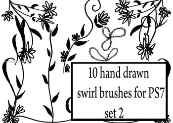 Hand Drawn Swirl