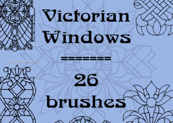 Victorian Windows Ornaments