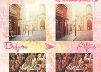 Warm Pink Vintage Effect Photoshop Action