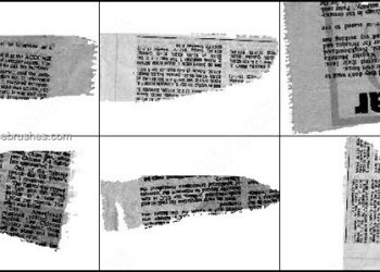 Newspaper Brushes Photoshop