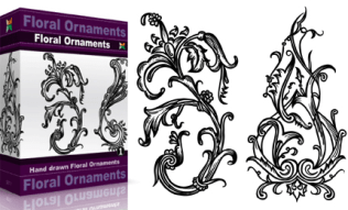 Floral Ornaments Set.1 | Vol : 1