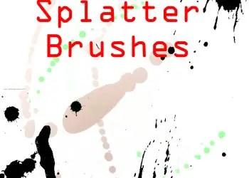 Ink Splatter Paint 37