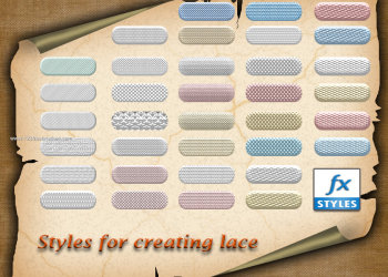 Styles For Creating Lace