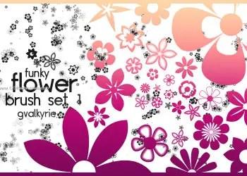 Flower Brushes Photoshop Cs6