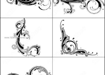 Free Decorative Swirl Brushes Photoshop
