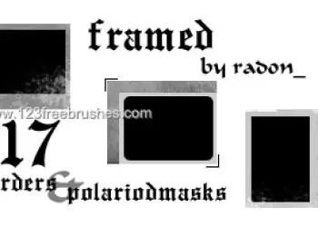 Polaroid Frames Set 18
