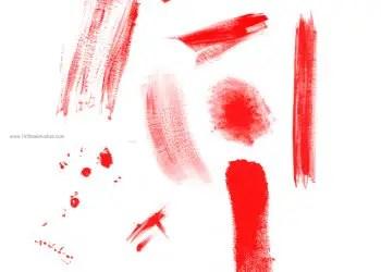Paint Brush Marks