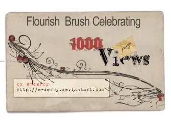 Celebration Flourish