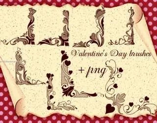 Valentines Day Corners