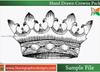 Hand Drawn Crowns