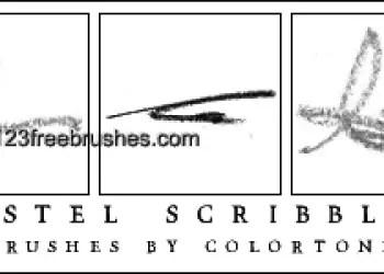 Pastel Scribbles