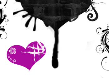 Valentine Dripping Heart