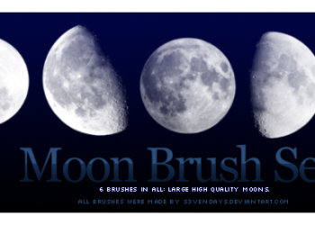 Moon Set 3