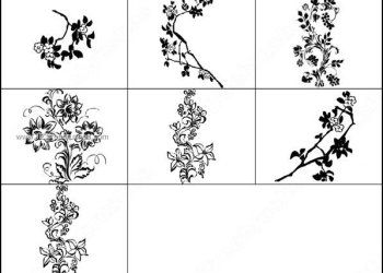 Free Floral Brush Pack for Photoshop 7