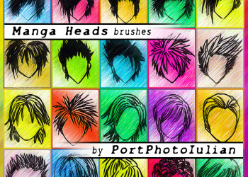 Manga Heads