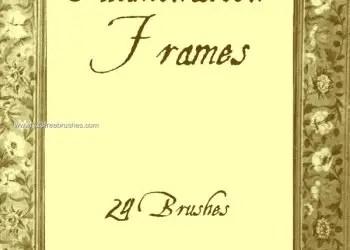 Medieval Illumination Frames