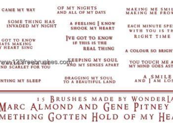 Gotten Hold of My Heart Lyrics