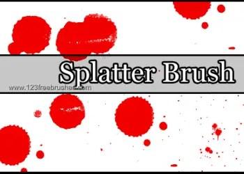 Ink Splatter Paint 4