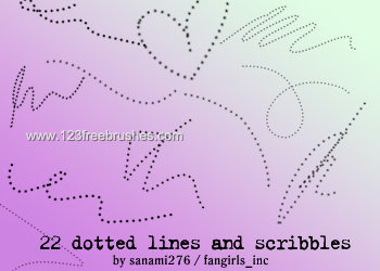 Dotted Lines and Scribbles