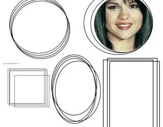 Square Frames – Circle Frames – Oval Frames