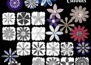 Flowers Cutouts
