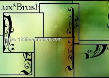 Flourish Frames