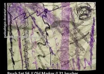 Old Marker Stroke