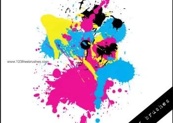 Ink Splatter Paint 106