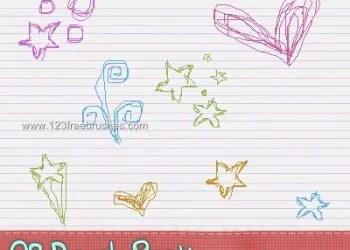 Doodle Set 13