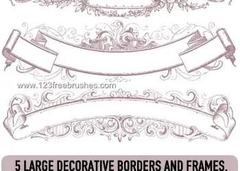 Deco Border Banner