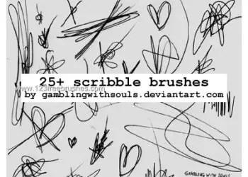 Ink Scribbles 11