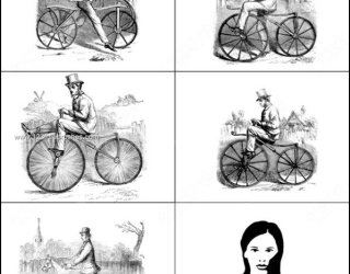 Vintage Bicycle – Bike Photoshop Brushes