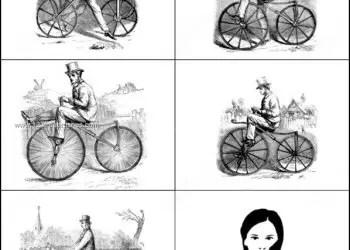Vintage Bicycle – Bike Photoshop Brushes