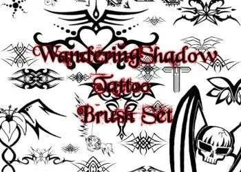 Photoshop Free Tattoo set Brushes