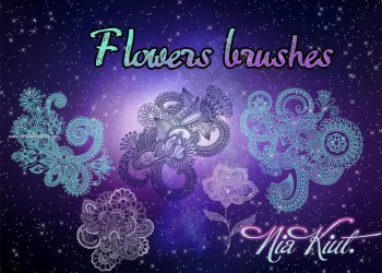 Photoshop Flower Brushes Free Download