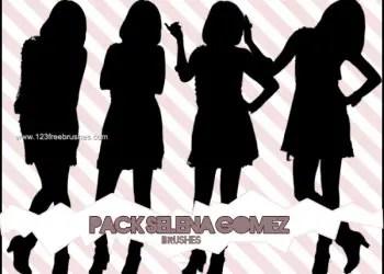 Silhouettes Selena Gomez